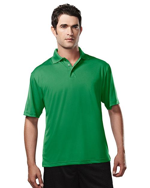 TM Performance 224 Men's Campus Ultracool Short-Sleeve Golf Shirt at GotApparel