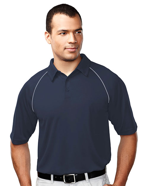 TM Performance 227 Men's Dauntless Raglan Sleeve Knit Polo at GotApparel