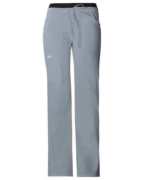 Cherokee Workwear 24001 Women Low Rise Drawstring Cargo Pant at GotApparel