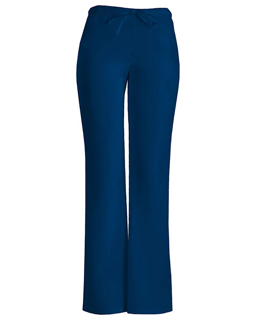 Cherokee Workwear 24002P Women Low Rise Moderate Flare Drawstring Pant at GotApparel