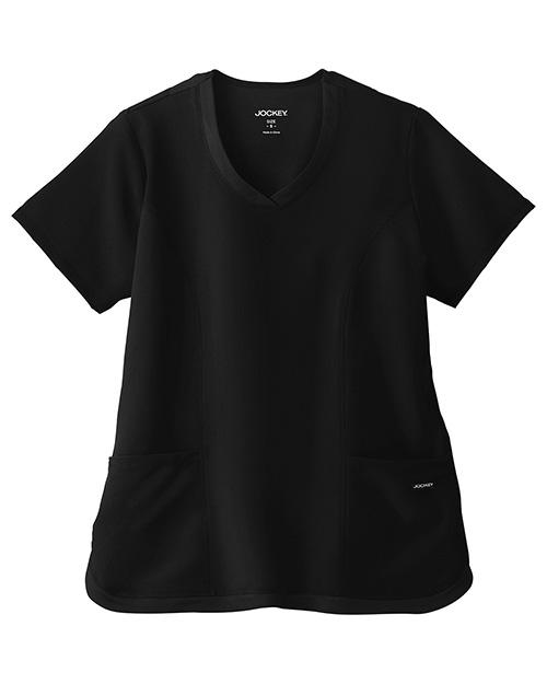 White Swan 2401 Jockey® Cool Mesh Shirttail Top at GotApparel