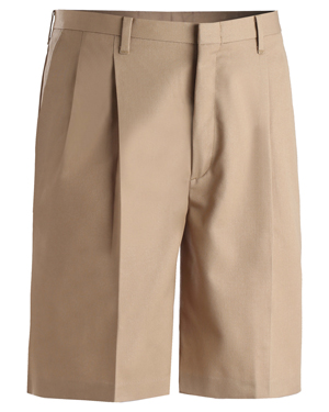 Edwards 2410 Men Business Casual Pleated Short at GotApparel