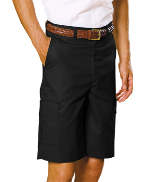 Edwards 2485 Men Flat Front Casual Chino Cargo Short at GotApparel