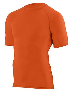 Augusta 2600 Men Hyperform Compression Short Sleeve Shirt at GotApparel