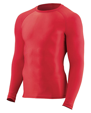 Augusta 2605 Boys Hyperform Compression Long Sleeve Shirt at GotApparel