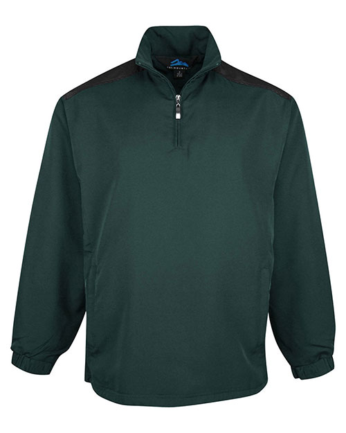 Tri-Mountain 2650 Men Parkview Water Resistant 1/4-Zip Wind Shirt at GotApparel
