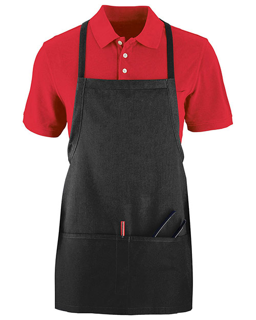 Augusta 2710 Unisex Tavern Apron With Pouch at GotApparel
