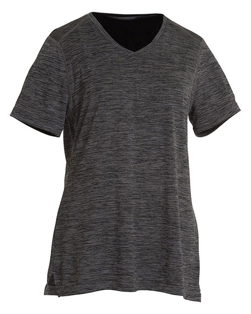 Charles River Apparel 2764 Women Space Dye Performance Tee at GotApparel
