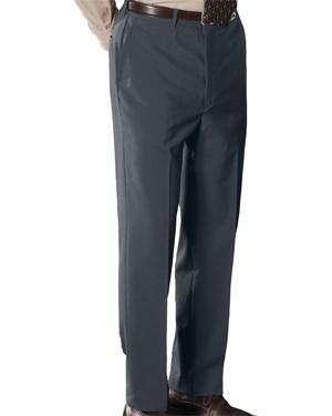 Edwards 2780 Men Wool Blend Flat Front Pant at GotApparel