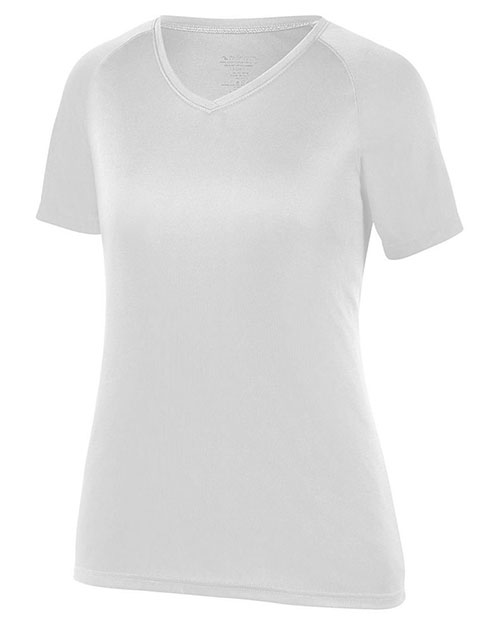 Augusta 2793 Girls Attain Wicking Shirt at GotApparel
