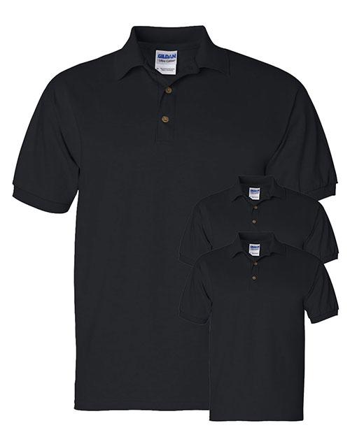 Gildan G280 Men Ultra Cotton 6 Oz. Jersey Polo 3-Pack at GotApparel