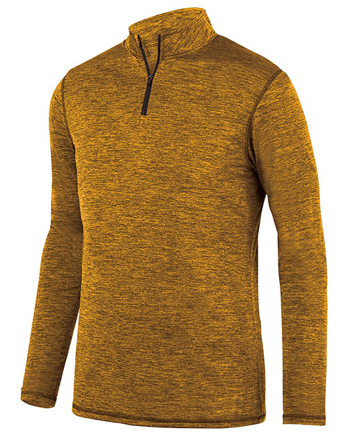 Augusta 2956 Boys Intensify Black Heather 1/4 Zip Pullover at GotApparel