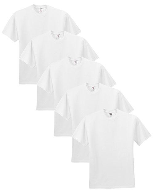 Jerzees 29M Men 5.6 Oz. 50/50 Heavyweight Blend T-Shirt 5-Pack at GotApparel