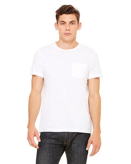 Bella + Canvas 3021 Men Short-Sleeve Pocket T-Shirt at GotApparel