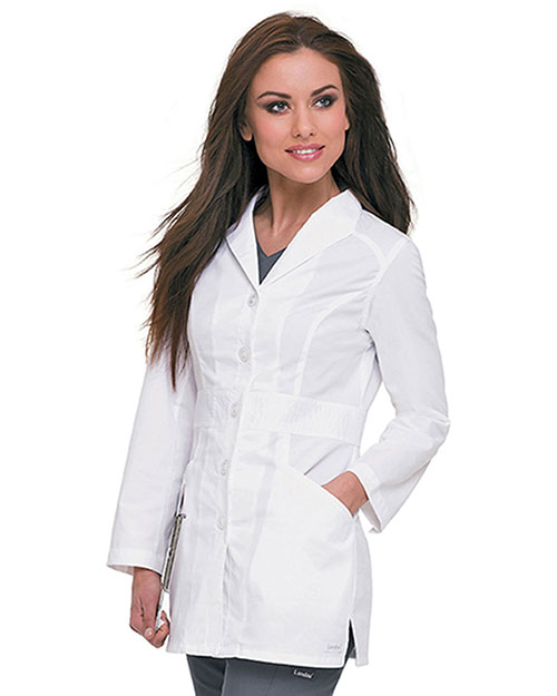 Landau 3028 Women Smart Stretch Signature Lab Coat at GotApparel