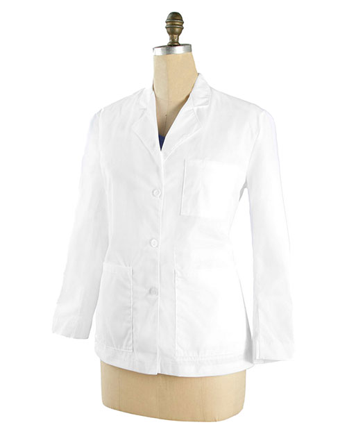 Landau 3029 Women Notched Lab Coat at GotApparel