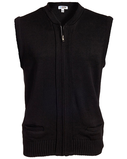 Edwards 302 Unisex Full-Zip Two Pocket Cardigan Sweater Vest at GotApparel