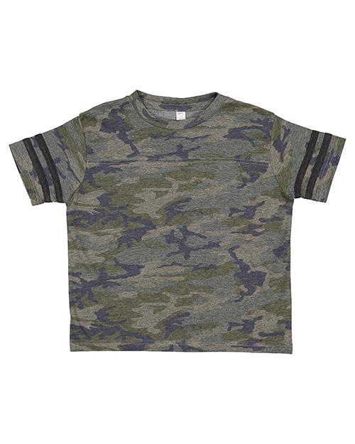 Rabbit Skins 3037 Toddler 4.5 oz Football T-Shirt at GotApparel