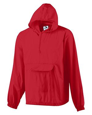 Augusta 3130 Men Packable Half-Zip Pullover at GotApparel