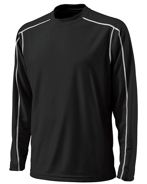 Charles River Apparel 3137 Men Long-Sleeve Wicking Tee at GotApparel