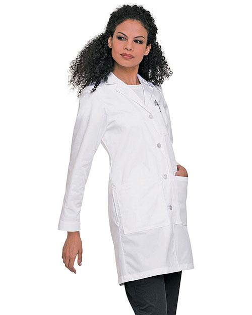 Landau 3153 Women Labcoat With Four Button Closure at GotApparel