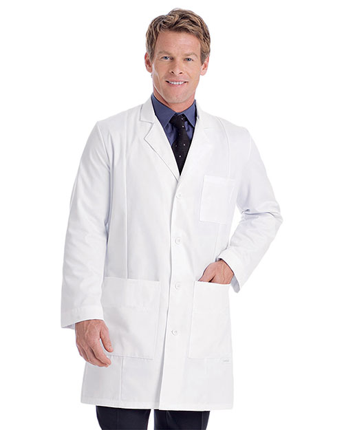 Landau 3161 Men Premium Lab Coat at GotApparel