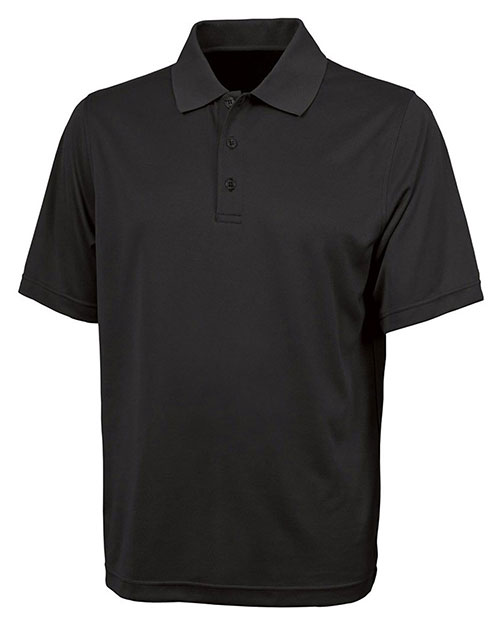 Charles River Apparel 3213 Men Smooth Knit Solid Wicking Polo at GotApparel