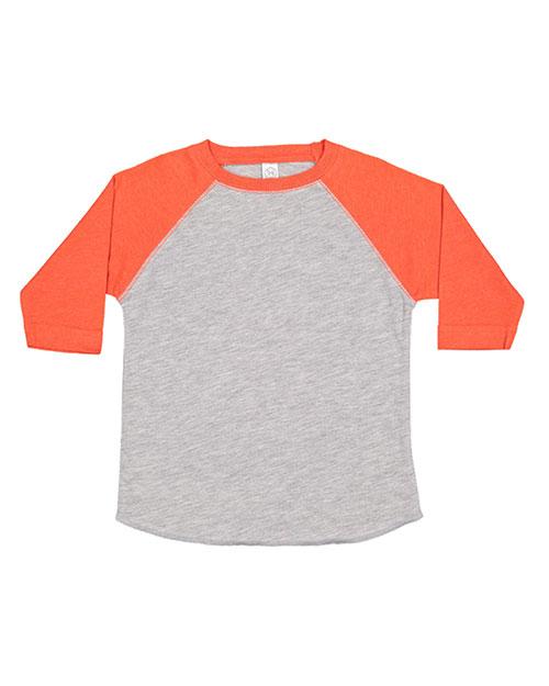 Rabbit Skins 3330 Toddlers Vintage Fine Jersey Baseball T-Shirt at GotApparel