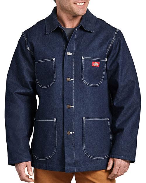 Dickies 3494 Unisex Denim Blanket Lined Chore Coat at GotApparel