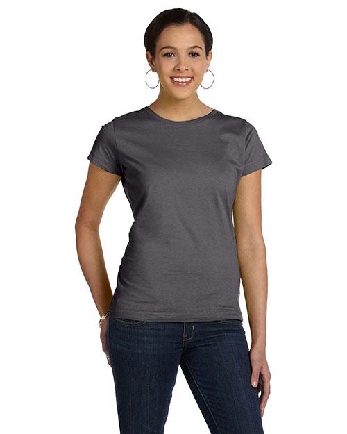 LAT 3516 Women Fine Jersey T-Shirt at GotApparel