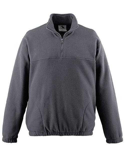Augusta 3530 Men Chill Fleece Half Zip Pullover at GotApparel