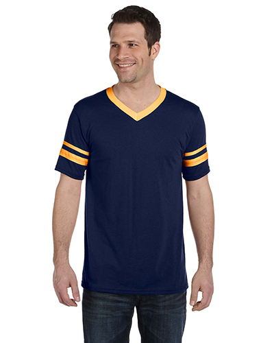 Augusta 360 Men Sleeve Stripe Jersey T-Shirt at GotApparel