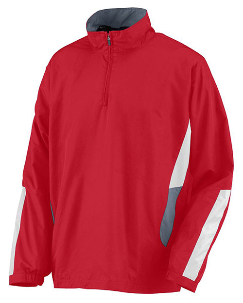 Augusta 3720 Men Drive Half Zip Pullover at GotApparel