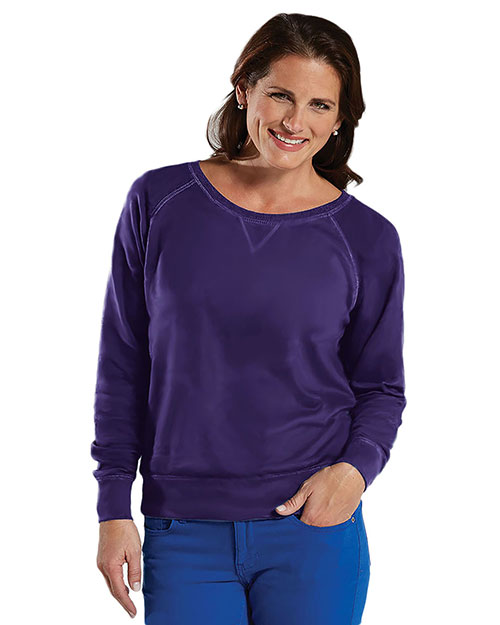 LAT 3762 Women Slouchy Pullover at GotApparel