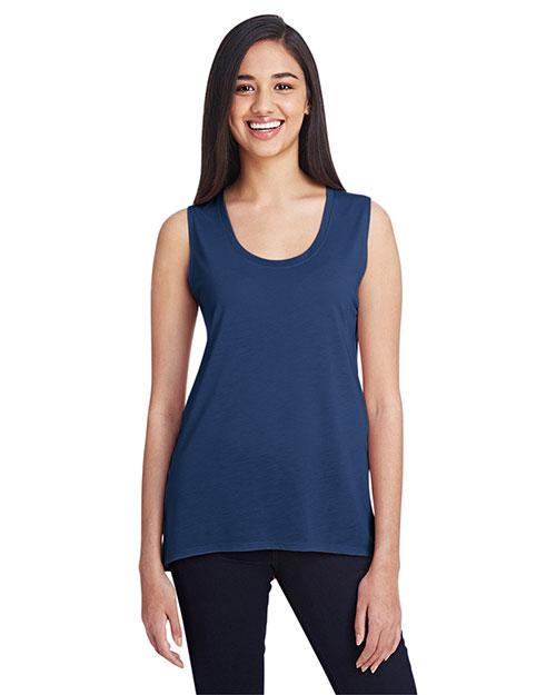 Anvil 37PVL Women Freedom Sleeveless T-Shirt at GotApparel
