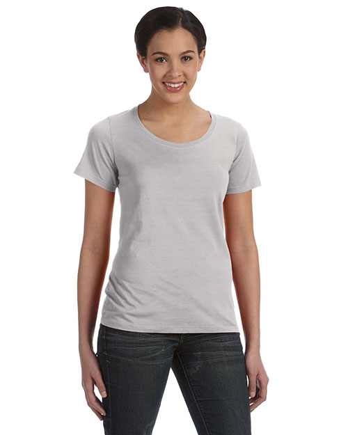 Anvil 391A Women Ringspun Sheer Featherweight T-Shirt at GotApparel