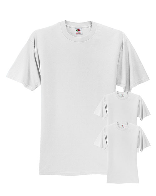 Fruit Of The Loom 3931 Men 5 Oz. 100% Heavy Cotton Hd T-Shirt 3-Pack at GotApparel