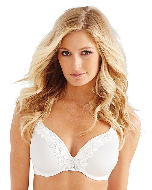 Bali 3L97 Women One Smooth U Ultra Light Lace with Lift Underwire Bra at GotApparel