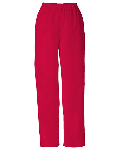 Cherokee Workwear 4001 Women Natural Rise Tapered Leg Pull-On Pant at GotApparel