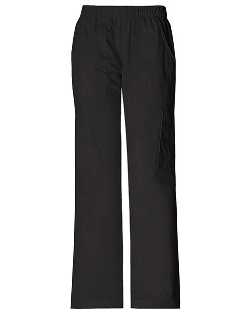 Cherokee Workwear 4005T Women Mid Rise Pull-On Pant Cargo  at GotApparel