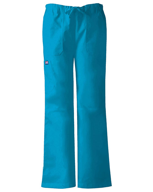 Cherokee Workwear 4020T Women Low Rise Drawstring Cargo Pant at GotApparel