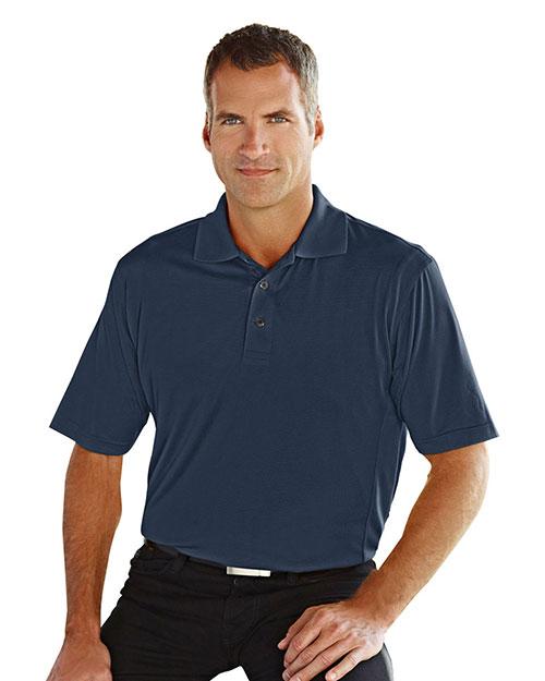 Tri-Mountain 405 Men Glendale Ultracool Jaquard Knit Short-Sleeve Golf Shirt at GotApparel