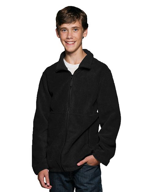 Sierra Pacific 4061 Boys Youth Full Zip Fleece Jacket at GotApparel