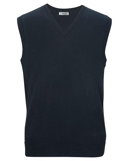 Edwards 4092 Unisex Fine Gauge V-Neck Sweater at GotApparel