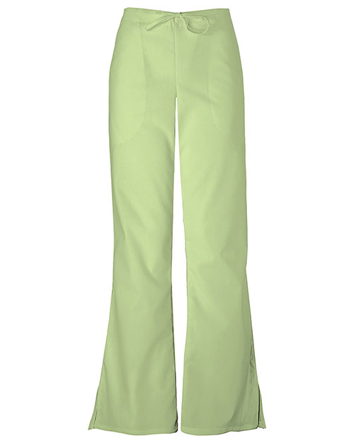 Cherokee Workwear 4101 Women Natural Rise Flare Leg Drawstring Pant at GotApparel