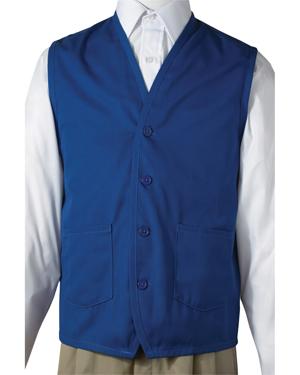 Edwards 4106 Men Apron Vest With Waist Pockets at GotApparel