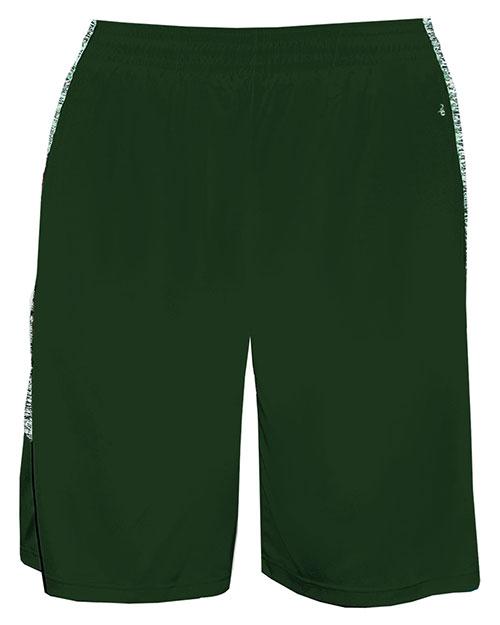 Badger 4195 Men Blend-Panel Shorts at GotApparel