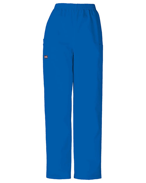 Cherokee Workwear 4200T Women Natural Rise Tapered LPull-On Cargo Pant at GotApparel