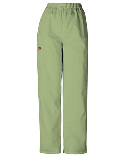 Cherokee Workwear 4200 Women Natural Rise Tapered Pull-On Cargo Pant at GotApparel