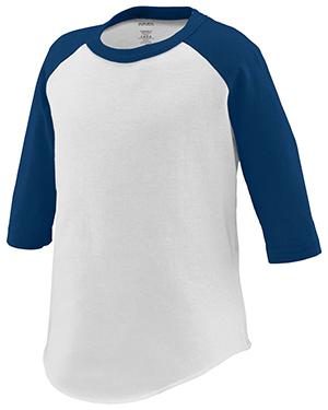 Augusta 422 Toddlers Three Quarter Sleeve Baseball Jersey at GotApparel